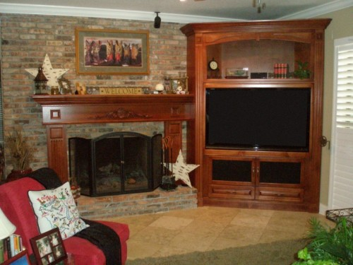 tv corner wall unit orlando fl