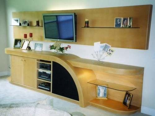 Custom Entertainment Centers Custom Wall Units Orlando FL