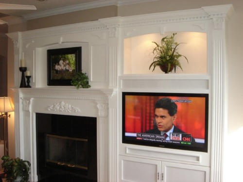Custom Entertainment Centers Custom Wall Units Orlando FL Wood Aspects LLC
