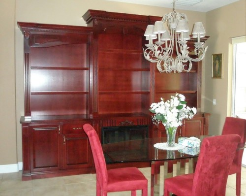 Custom Entertainment Centers - Custom Wall Units Orlando ...